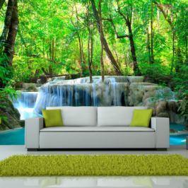 Fototapeta - Erawan Falls, Kanchanaburi, Thailand Fototapety