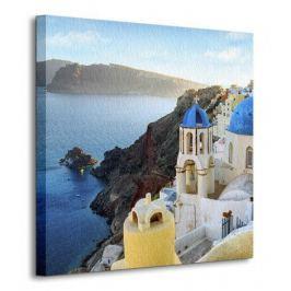 Grecja, Santorini, Oia - Obraz na płótnie Fototapety