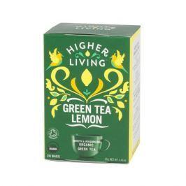 Higher Living Green Tea Lemon - herbata - 20 saszetek Herbata