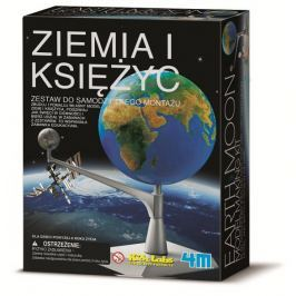 ZIEMIA I KSIĘŻYC - KIDZ LABS 4M Pozostałe zabawki edukacyjne