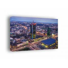 Warszawa Dworzec Centralny - obraz na płótnie