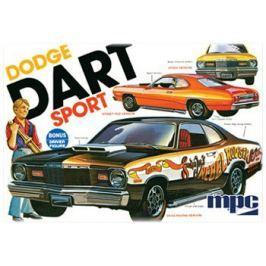 Model Plastikowy Do Sklejania MPC (USA) - 1975  Dodge Dart Sport Pozostałe zabawki edukacyjne