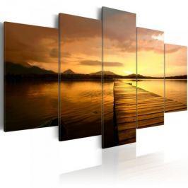 Obraz - Wyspa zachodzącego słońca Fototapety