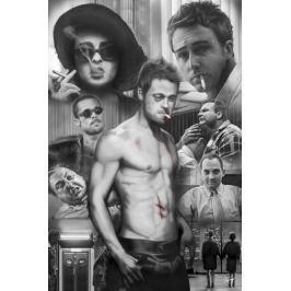 Fight Club Podziemny Krąg Mix - plakat Fototapety