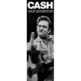 Johnny Cash Więzienie San Quentin - plakat Fototapety
