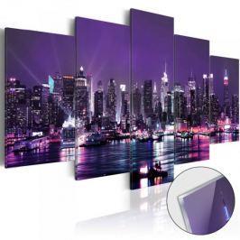 Obraz na szkle akrylowym - Purpurowe niebo [Glass] Fototapety