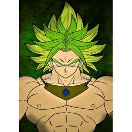 Dragon Ball - Broly - plakat