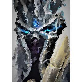 POLYamory - Lich King, Warcraft - plakat