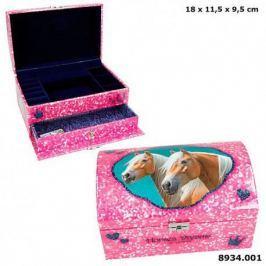 Szkatułka pudełko na biżuterię Horses Dreams 8934 z konikami