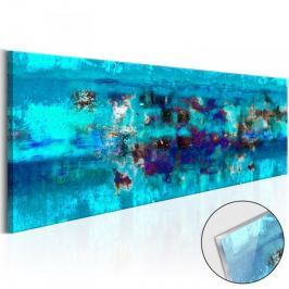 Obraz na szkle akrylowym - Abstrakcyjny ocean [Glass]