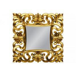 Lustro wiszące Baroque 100x100 złoty