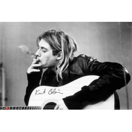 Kurt Cobain Smoking Nirvana - plakat