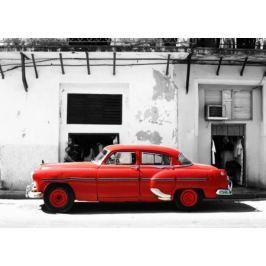 Cadillac, Havana Cuba - fototapeta