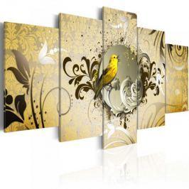 Obraz - Śpiew żółtego ptaka