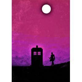 Doctor Who Vintage Poster - plakat