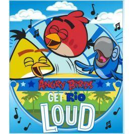 Pled Koc Kocyk polarowy Angry Birds 120x140cm