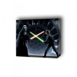 Gwiezdne Wojny Vader kontra Luke - obraz na płótnie