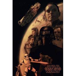 Gwiezdne Wojny Przebudzenie Mocy - plakat premium