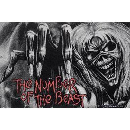 Iron Maiden The Number Of The Beast - wycieraczka