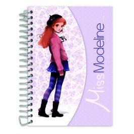 Podręczny szkicownik i notatnik Capucine Miss Modeline