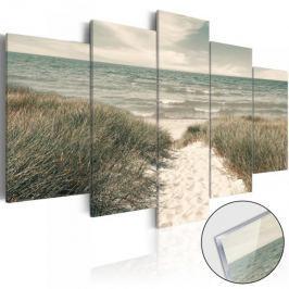 Obraz na szkle akrylowym - Cicha plaża [Glass]
