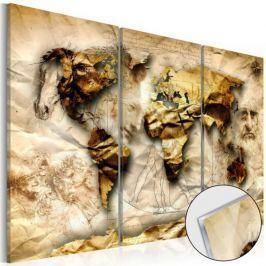 Obraz na szkle akrylowym - Anatomia świata [Glass]