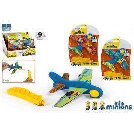 Samolot piankowy z wyrzutnią Minionki - losowy kolor