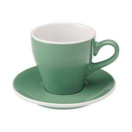 Loveramics Tulip - Filiżanka i spodek Cappuccino 180 ml - Mint