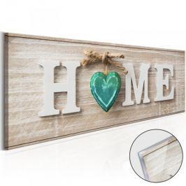 Obraz na szkle akrylowym - Home: Blue [Glass]