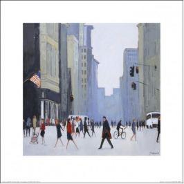 New York ulica - plakat premium
