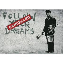 Fototapeta Banksy Cancelled flizelinowa