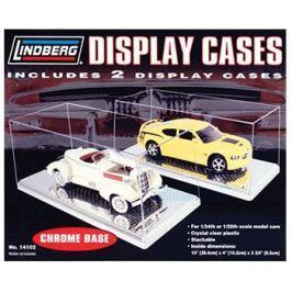Para przezroczystych gablot do modeli samochodów (CHROME) - Lindberg
