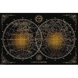 Mapa świata - plakat