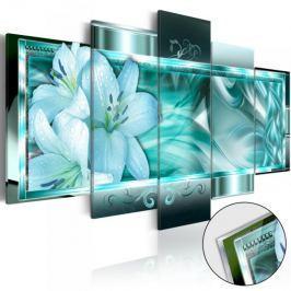 Obraz na szkle akrylowym - Lazurowy sen [Glass]