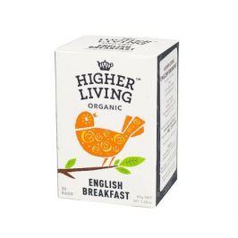 Higher Living English Breakfast - herbata - 20 saszetek