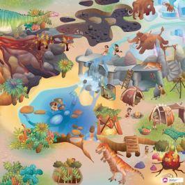 Mata Little Hippo 75x112cm Park Dinozaurów dywan