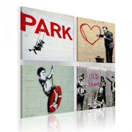 Obraz - Banksy - miejskie inspiracje