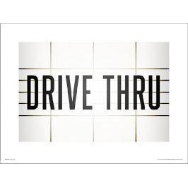 Drive Thru - plakat premium
