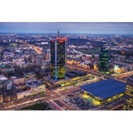 Warszawa Dworzec Centralny - plakat premium