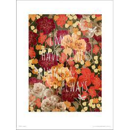 Flowers Always - plakat premium