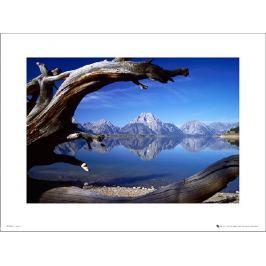 Tom Mackie Lakes And Mountains - plakat premium