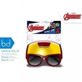 Okulary przeciwsłoneczne 3D Iron Man