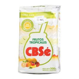 CBSe FrutosTropicles - yerba mate 500g