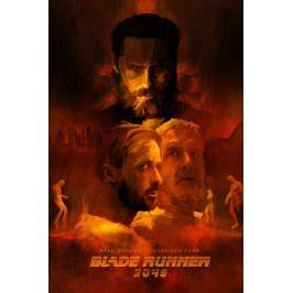 Blade Runner 2049 Bohaterowie - plakat premium