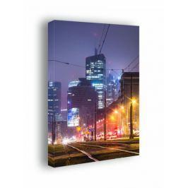 Warszawa City - obraz na płótnie