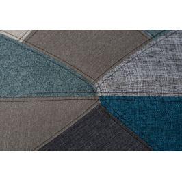 Krzesło P016 DSR patchwork nieb - szary