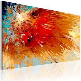 Obraz malowany - Eksplozja