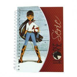 Podręczny szkicownik i notatnik Horse z Konikami A6