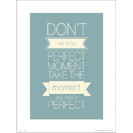 Perfect Moment - plakat premium