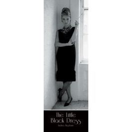 Audrey Hepburn - The Little Black Dress - plakat